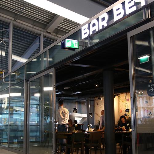 Vergaderen bij Bar Beton